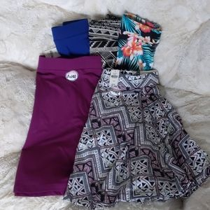 (Lot of 5) VS Pink Mini Skater Skirts